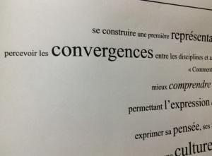 Des convergences entre les disciplines