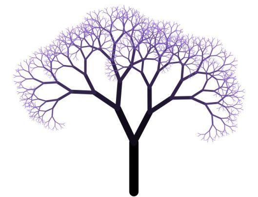 arbre fractal